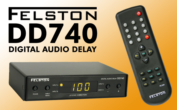 Felston DD740 and its remote control